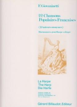 22 Chansons Populaires Francaises - Auteurs Divers - laflutedepan.com