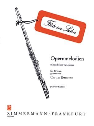 Opernmelodien - 2 Flûtes Partition Flûte traversière - laflutedepan
