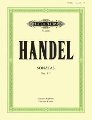 HAENDEL - Flute Sonatas Volume 2 - N ° 4-7 - Partition - di-arezzo.com