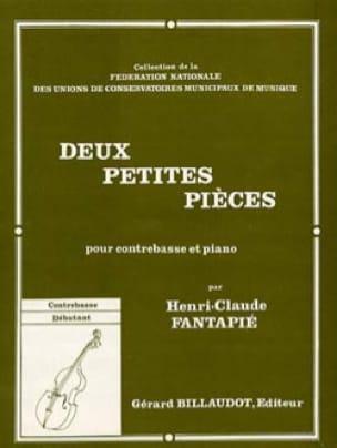 2 Petites pièces - Henri-Claude Fantapié - laflutedepan.com
