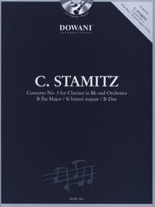 Concerto pour clarinette n° 3 en sib maj. STAMITZ laflutedepan
