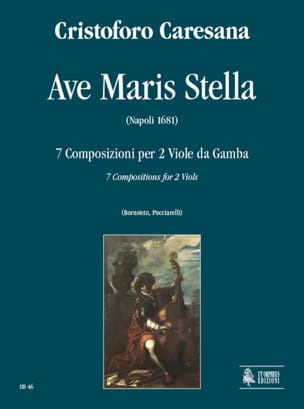 Ave Maris Stella 1681 Cristoforo Caresana Partition laflutedepan
