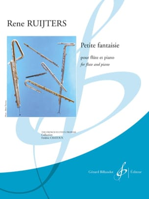 René Ruijters - Little Fantasy - Flute and Piano - Partition - di-arezzo.co.uk