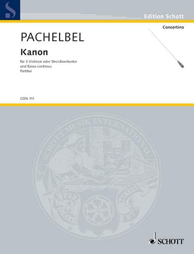 Kanon - Partitur - PACHELBEL - Partition - laflutedepan.com