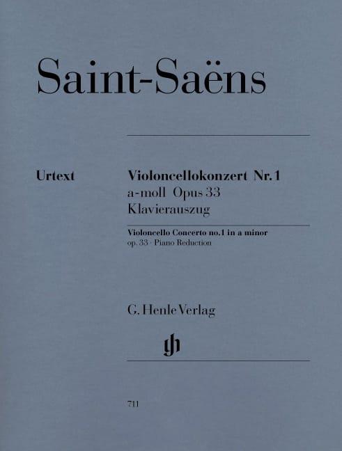 Concerto Violoncelle n° 1 op. 33 - SAINT-SAËNS - laflutedepan.com