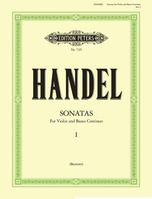 Sonates Volume 1 HAENDEL Partition Violon - laflutedepan