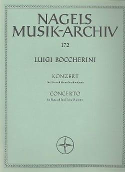 Concerto pour flûte - Partitur BOCCHERINI Partition laflutedepan