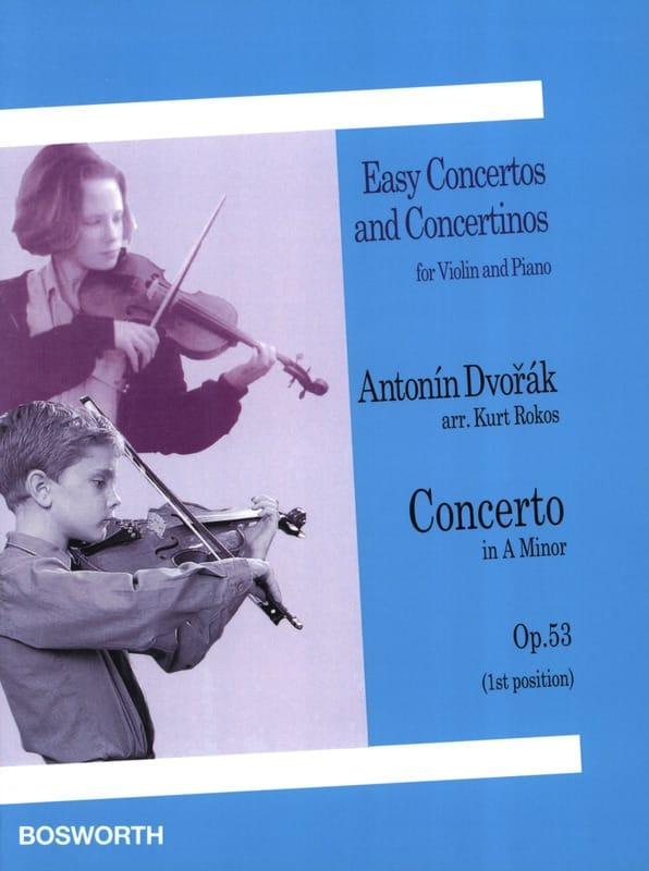 Concerto Violon op. 53 La mineur 1ère position - laflutedepan.com