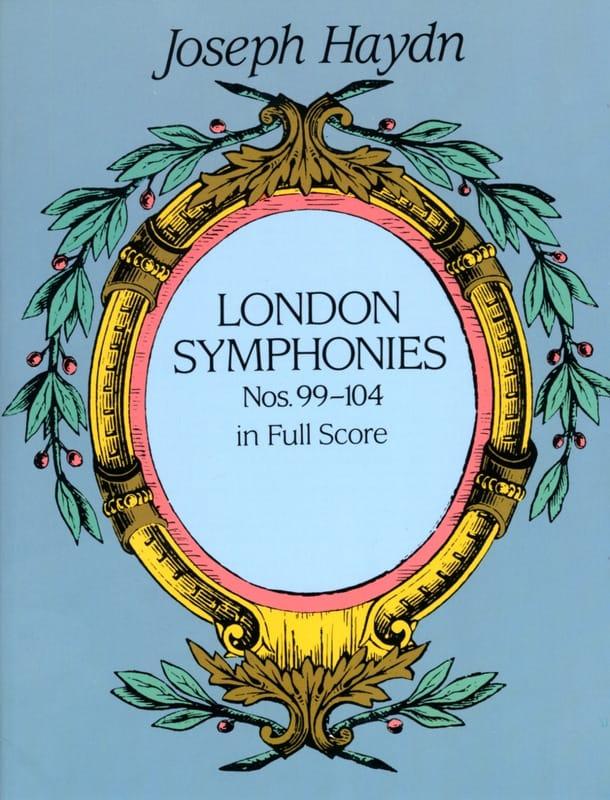 London Symphonies N° 99 à 104 - HAYDN - Partition - laflutedepan.com