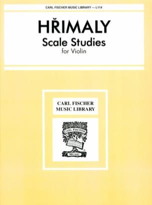 Etudes de Gammes Johann Hrimaly Partition Violon - laflutedepan