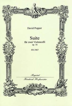 Suite Op. 16 David Popper Partition Violoncelle - laflutedepan