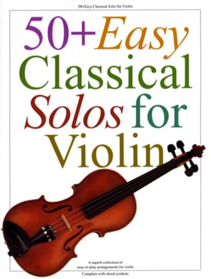 50+ easy classical Solos for Violon Partition Violon - laflutedepan