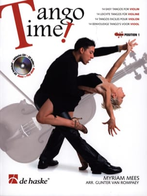 Tango Time Myriam Mees Partition Violon - laflutedepan