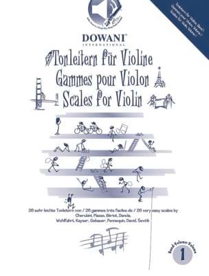 Gammes Pour le Violon Volume 1 Partition Violon - laflutedepan