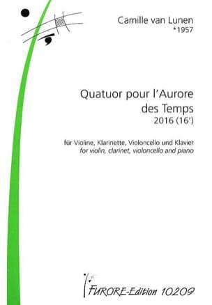 Quatuor pour l'Aurore des Temps Lunen Camille Van laflutedepan