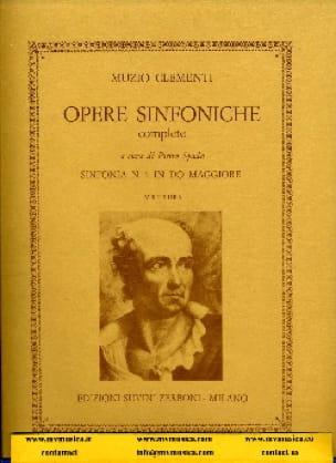 Symphonie n° 1 en do majeur - CLEMENTI - Partition - laflutedepan.com