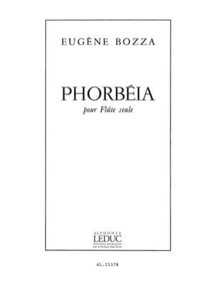 Phorbéia Eugène Bozza Partition Flûte traversière - laflutedepan