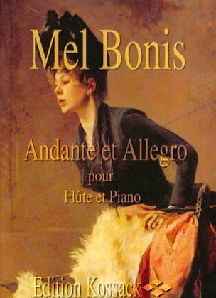 Andante et Allegro Mel Bonis Partition laflutedepan