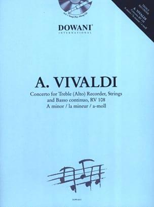 Concerto pour flûte à bec alto RV 108 en la min. VIVALDI laflutedepan