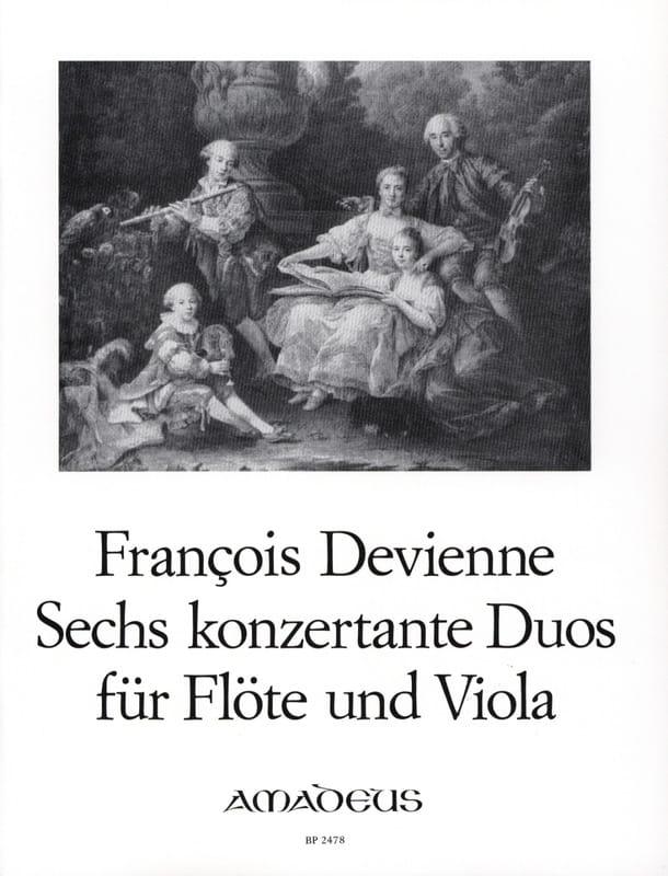 6 Duos Concertants Opus 5 - DEVIENNE - Partition - laflutedepan.com