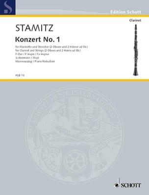 Konzert Nr. 1 F-Dur - Klarinette Klavier STAMITZ laflutedepan