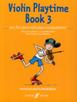 Violon Playtime book 3 Paul de Keyser Partition Violon - laflutedepan