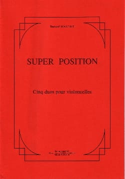 Super Position - Bernard Malait - Partition - laflutedepan.com