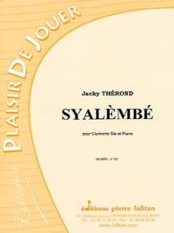 Syalèmbé Jacky Therond Partition Clarinette - laflutedepan
