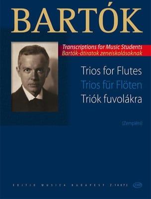 Trio - 3 Flûtes BARTOK Partition Flûte traversière - laflutedepan