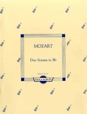 Duo-Sonata in Bb KV 292 - 2 Violas - MOZART - laflutedepan.com