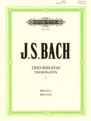 Triosonaten - Bd. 1 : C-Dur BWV 1037 - G-Dur BWV 1039 -2 Violinen u. Bc - laflutedepan.com