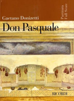 Don Pasquale nouvelle éd. DONIZETTI Partition laflutedepan