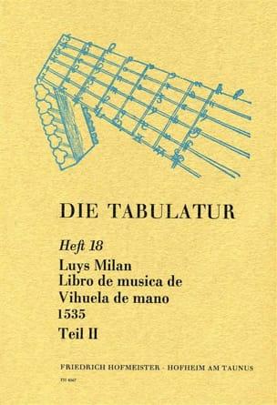 Libro de Musica de Vihuela de Mano 1535 - Livre 18 - Vol.II laflutedepan