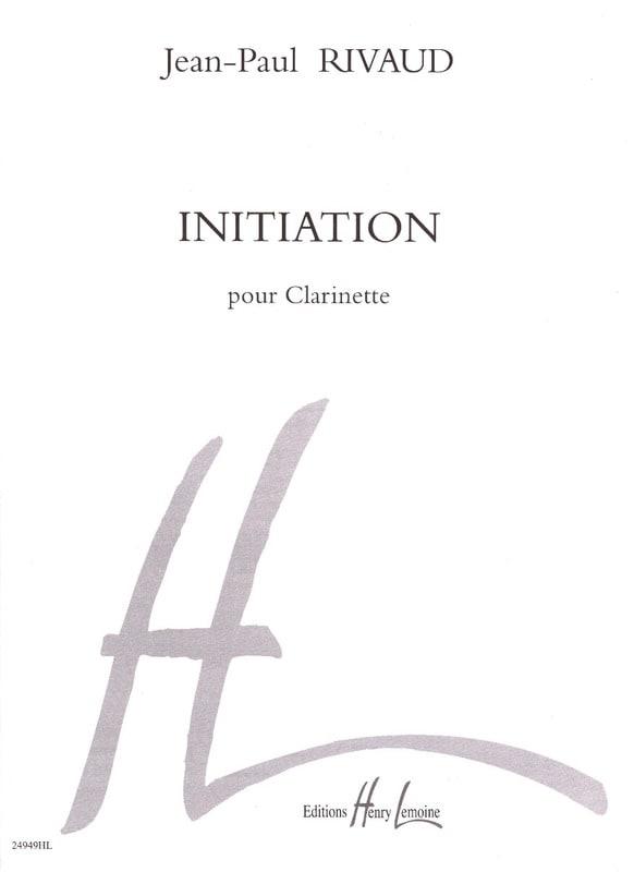 Initiation - Jean-Paul Rivaud - Partition - laflutedepan.com