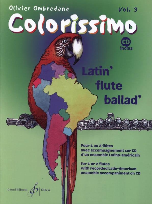 Colorissimo - Volume 3 - Olivier Ombredane - laflutedepan.com