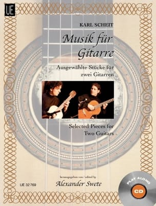 Musik für Guitarre - Karl Scheit - Partition - laflutedepan.com