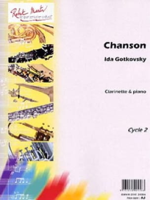 Chanson - Ida Gotkovsky - Partition - Clarinette - laflutedepan.com