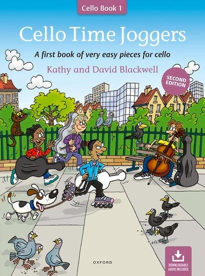 Cello Time Joggers Book 1 - Partition - laflutedepan.com