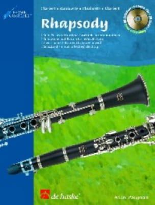 Rhapsody For Clarinet - André Waignein - Partition - laflutedepan.com