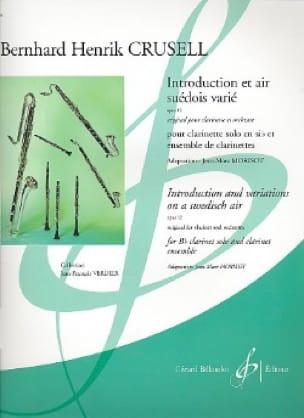 Introduction et Air Suédois Varié - Ensemble De Clarinettes - laflutedepan.com