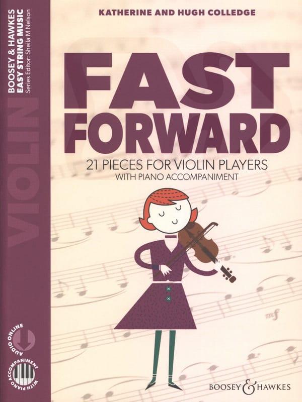Fast Forward - Violon et Piano - Partition - laflutedepan.com