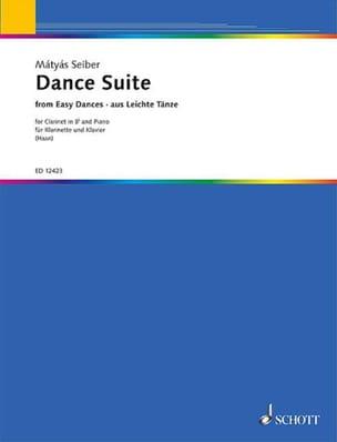 Dance Suite Mátyás Seiber Partition Clarinette - laflutedepan