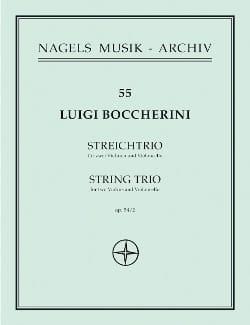 Trio für 2 Violinen und Violoncello op. 54 Nr. 2 -Stimmen laflutedepan