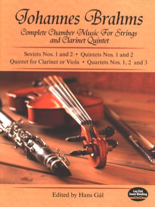 Complete Chamber Music for Strings and Clarinet Quintet - Full Score laflutedepan