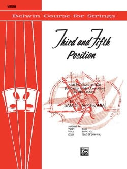 3th And 5th Position String Builder - Violon laflutedepan