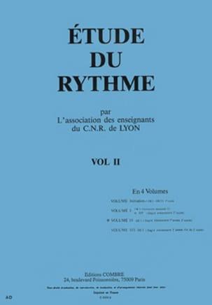 Etude du rythme - Volume 2 - DE1 de Lyon C.N.R. laflutedepan