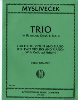 Trio in Bb major, op. 1 n° 4 -Flute, violin, piano laflutedepan
