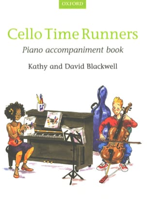 Cello Time Runners - Piano accomp. Book Partition laflutedepan