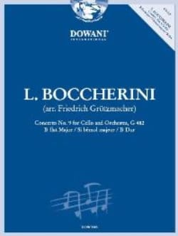 Concerto N°9 En Sib Maj. - G.482 BOCCHERINI Partition laflutedepan