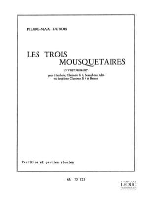 Les 3 Mousquetaires Pierre-Max Dubois Partition laflutedepan